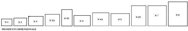 Cassaforte a combinazione meccanica serie 65
